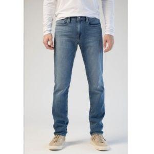 FRAME L'Homme Slim Straight Jeans Majave